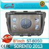 LSQ Star Android 4.0 for Kia Sorento 2013 car stereo system with gps Manufacture with 3G/Wifi/GPS\BT