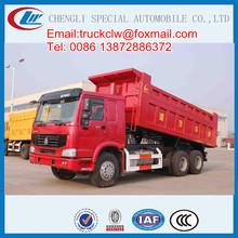 Sinotruck HOWO 340HP China Tipper Truck Front Loading trucks