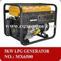 5kw tragbare macht lpg generator