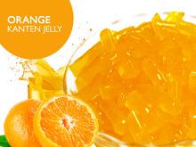 orange Kanteen gelee