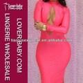 inspirieren pink ladies Nacht langarm hot girl sexy club kleid l2608