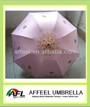 21''x8k three folding unique fashion umbrella