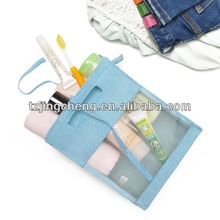 Fashion Nylon Mesh for travel wash bag