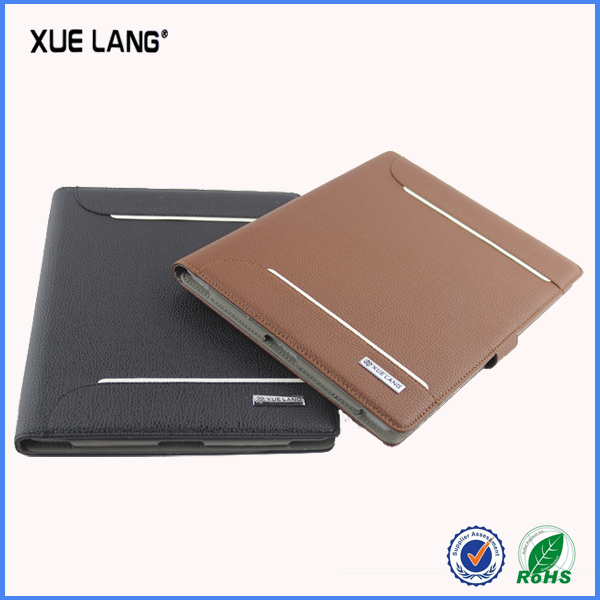 leather case for ipad 5 can make to fit for any other model for ipad cover