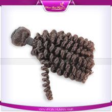 Caliente venta! Venta al por mayor precio de caramelo curl brasileña del pelo para afica americanos