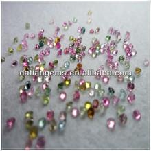 Colorful natural gems natural tourmaline stone