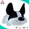 Hot sale black and white stuffed plush dogs