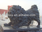 stone Tibetan Mastiff statue for garden decoration
