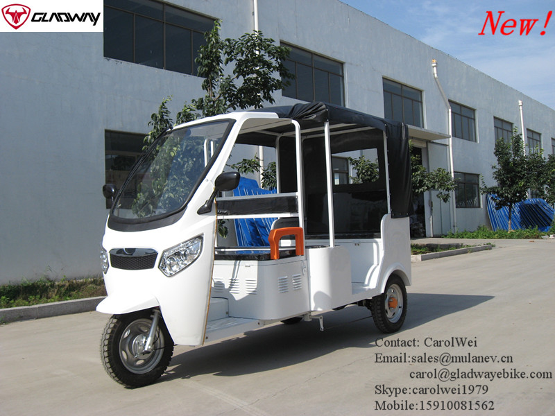 MANUFACTURE ELECTRIC AUTO RICKSHAW TUKTUK TRICYCLE FOR PASSENGER SOUTHEAST ASIA MARKET