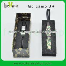 New in market G5 camo JR 2013 Portable Dry Herb Electronic Vaporizer ego vaporizer e cigarette