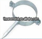nailed galvanized iron pipe clip