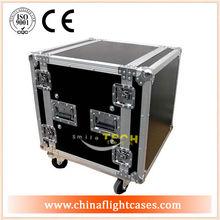 10U, 12U, 14U, 16U shock amp/mixer rack flight case,rackmount shipping cases