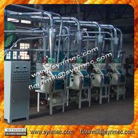 full setup of 5T High quality corn grits making machine for sale