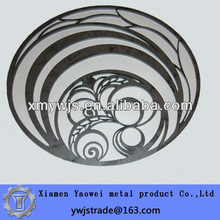 Low cost and High precise 3mm cnc laser cut stainless steel decorations