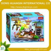 Hot sale COGO original brixbolt 3d building blocks game,construction plastic building blocks,building hollow block making machin