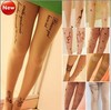 Fashion Stockings Leggings Trendy Tattoo Temptation Sheer Pantyhose Tights New strumpfhosen