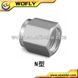 Stainless steel fittings npt ferrule nut