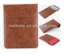 For i pad case With pouch For IPAD 5