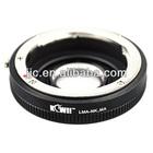 Kiwifotos LMA-NK_MA Lens Mount Adapter Ring for Nikon F mount lens For SONY Alpha/MINOLTA AF Camera