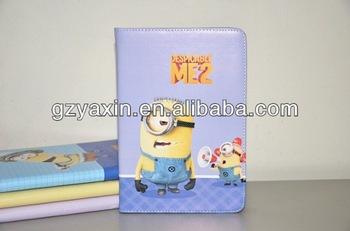 case for x10 mini pro,Super Cute Despicable Me 3D Cartoon Soft Minions Silicone Case for ipad mini