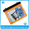 For ipad waterproof bag with earphone