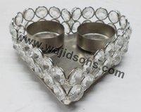 Metal Religious crystal t.light holder