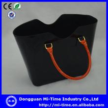 2014 newest popular plastic basket handbag family tote bags