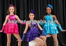 ballet tutu pattern,wholesale professional girls jazz dress for girls