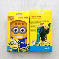 despicable me 2 minions 3d silicone soft case