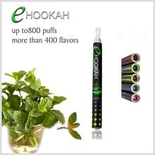 Shenzhen factory Electronic hookah pen 800 puffs disposable e cigarette
