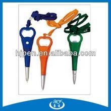 Multi-functional Plastic Ball Pen Bottle Opener Ball Pen For Promotional
