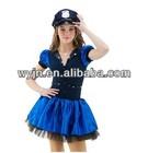 2014- -teen police dance jazz costume skirt- dashing navy dance dress mix -child&adult--dashing teen navy dancedwear