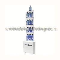 Good quality floor cosmetic cardboard e-liquid display case