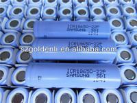 best sale and 100% original samsung ICR18650-22P LiOn 2200mAh battery