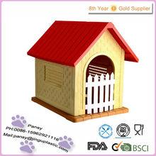 hot sale unique foldable waterproof plastic dog house kennel