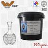 Environmental imitation ceramic water based coating for glass bottle, flat glass, ceramic coloring