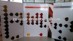 AVORIO Hair Dye Color Chart, Hair Swatch