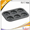 Non-stick Carbon Steel 6cup bundt muffin pan Baking Pan