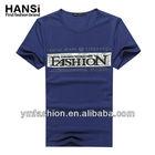 high quality fashionable men's casual cotton t shirt wholesale men's clothing
