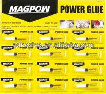 High strength cyanoacrylate instant glue