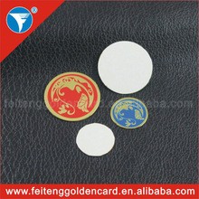 self adhesive metal logo brand label cut out any shape brass pet ID tag 3m adhesive metal plate