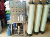 Water for analytical laboratory use making machine
