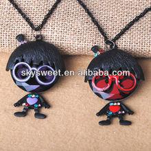 christmas gift jewelry,murano glass pendant necklace, enamel jewelry cheap