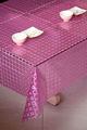 casamento roxo tableclothes