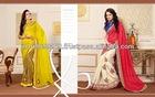 New Style Wedding Wear Designer Indian Saree Bollywood Pakistani Sari