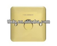 High quality Metal clad electrical wall switch,light dimmer switch 1000W/220V