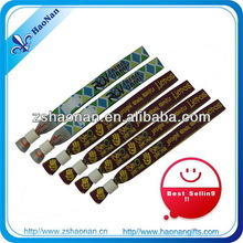 Handicraft of polyester wristbands for festival wholesale