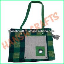 stylish printable jute bag