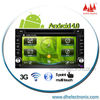 HOT 6.2'' universal cars dvd player with Android system radio Bluetooth IPOD Wifi TV 3G