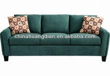 Chesterfield sala de estar mobiliário l forma sofá HDS1020